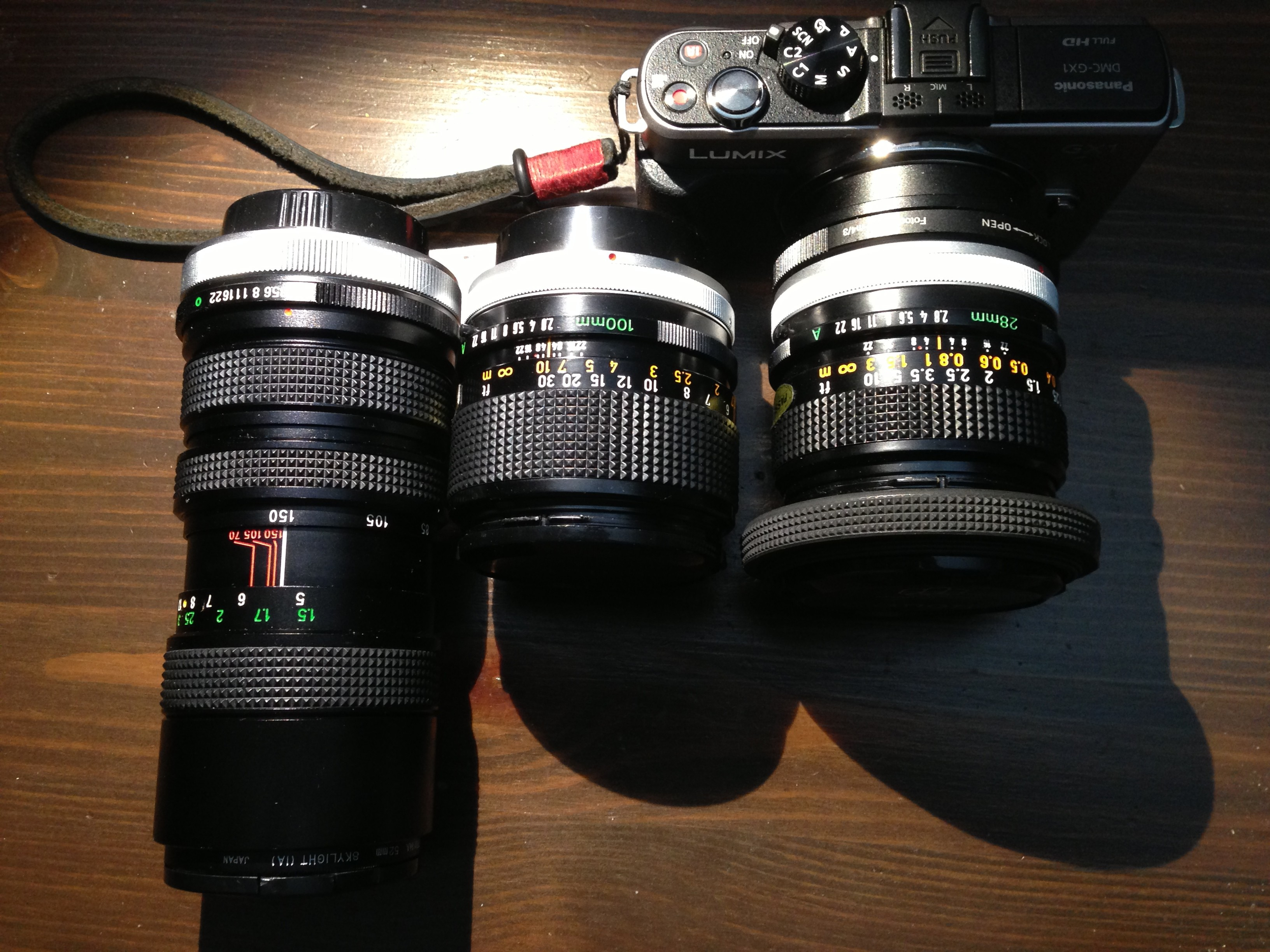 Vintage Meets Modern – Canon FD Lenses with Micro 4/3